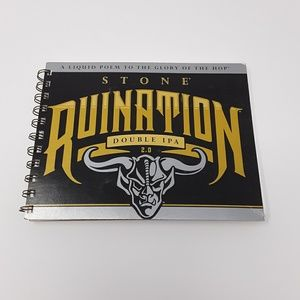 Stone Brewing Recycled Beer Carton Notebook ♻️